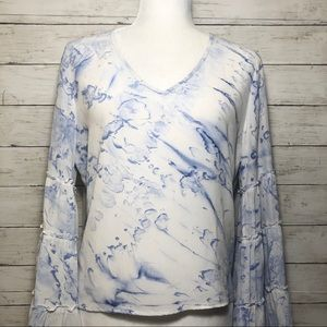 Fifteen Twenty bell sleeve blouse